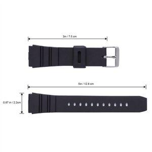 BRACELET DE MONTRE Bande de montre en silicone imperméable à l'eau du