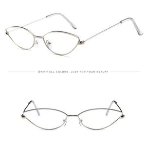 193966a91d LUNETTES DE SOLEIL Petite boîte ovale oeil de chat lunettes de soleil