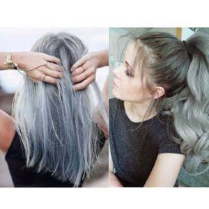 Couleur cheveux reflet gris
