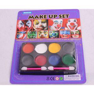 palette maquillage halloween achat vente jeux et jouets pas chers. Black Bedroom Furniture Sets. Home Design Ideas