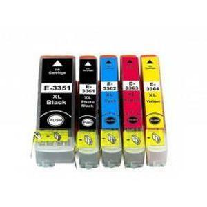 CARTOUCHE IMPRIMANTE 5  compatibles EPSON T3351-T3361-T3362-T3363 -T336