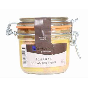 FOIE GRAS Foie gras de canard entier du Sud-Ouest CDM 180g