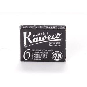 Stylo - Parure Kaweco Cartouches d'Encre courtes, Pearl Black (No