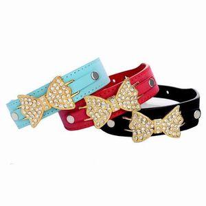 HARNAIS SPORT DE CHIEN Kingwing®Mode chiot chien collier bling cristal st