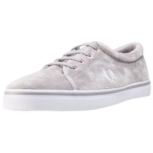BASKET Fred Perry Aubyn Velour Femmes Baskets argent - 6