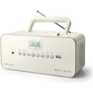 RADIO CD CASSETTE Muse M-30 BTN, Portable, Analogique, FM,MW,PLL, LC