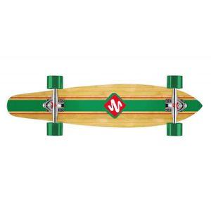 """SKATEBOARD - LONGBOARD STREET SURFING Longboard Kicktail 36"""" Infinity"""
