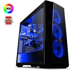 UNITÉ CENTRALE  VIBOX Eagle 4 PC Gamer Ordinateur avec War Thunder