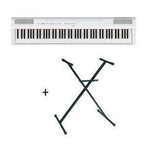 PIANO Pack Yamaha P125 blanc - Piano numérique - 88 touc