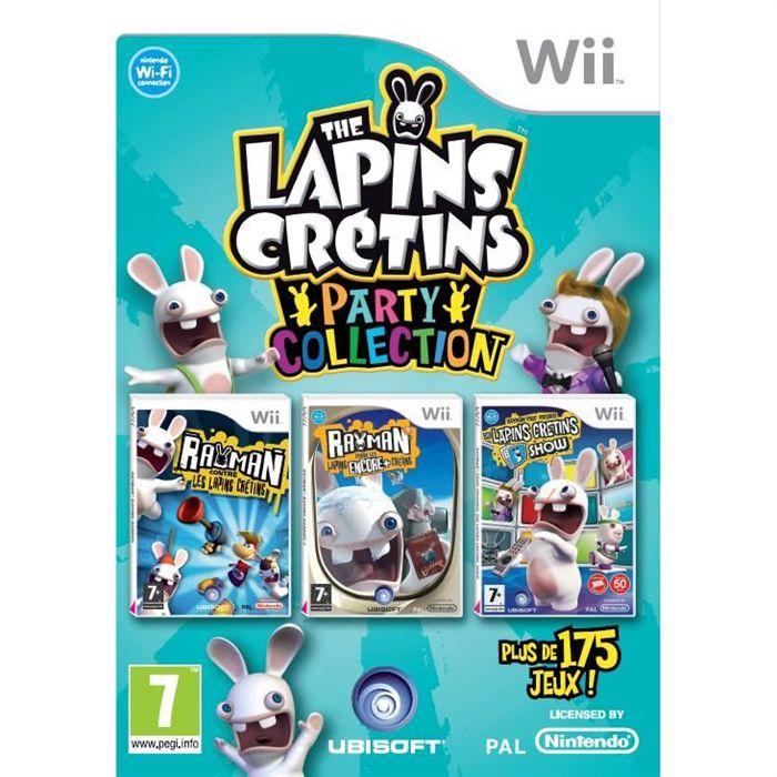 The lapins cretins party collection jeu wii achat vente jeux wii the lapins cretins party - Jeux lapin cretain gratuit ...