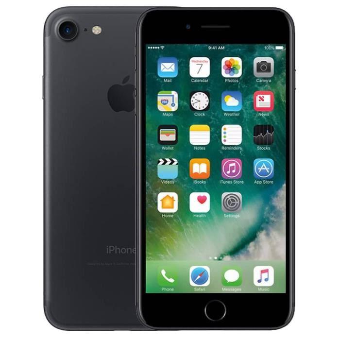eabb60e5642b2c Apple iPhone 7 32 Go - Noir Mate reconditionné à neuf - Achat ...