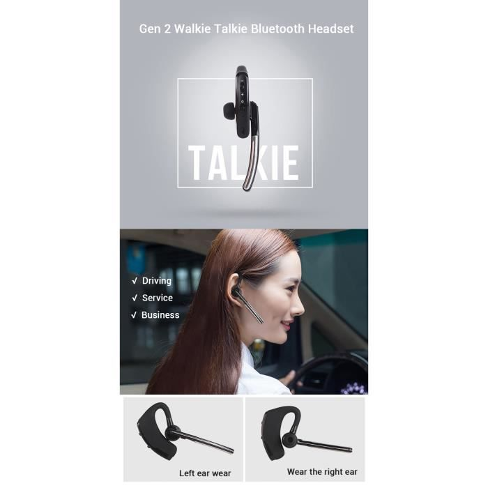 Estore009® Casque Bluetooth Avec Kit Bt,compatible Tous Les Appareils D'appariement