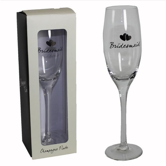 Demoiselle Dhonneur Flûte à Champagne Cadeau De Mariage