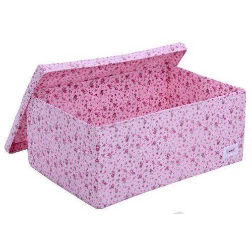 minene - boîte de rangement sous lit - fleurs roses… - achat