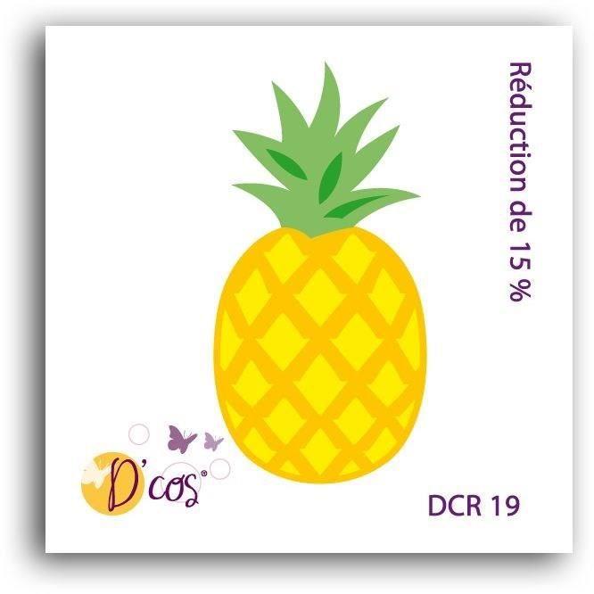 GABARIT DE DCOUPE LES DCOS TOGA Die Ananas