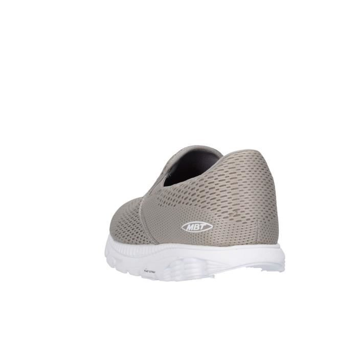 Mbt Slip On Homme Taupe, 44,5