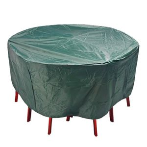 Housse de protection pour table ronde - Achat / Vente pas cher