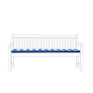 BANC D'EXTÉRIEUR Coussin bleu pour banc 170 cm TOSCANA/JAVA