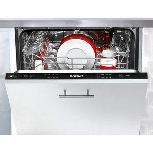 LAVE-VAISSELLE Lave-vaisselle BRANDT VH 1704 J - 14 couverts - 6