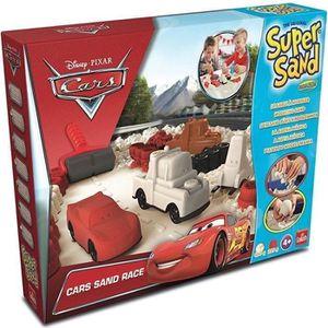 JEU DE PÂTE À MODELER CARS Super Sand - Sable magique avec Moules