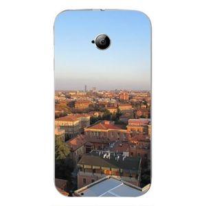 COQUE - BUMPER Bologne Horizon - Coque Silicone Transparente pour
