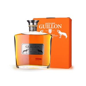 WHISKY BOURBON SCOTCH Guillon finition Champagne 70cl - Etui - Whisky Si