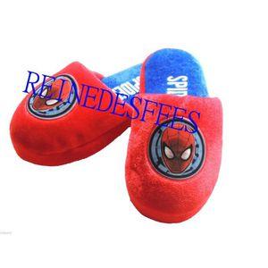 CHAUSSON - PANTOUFLE Pantoufles enfants Spiderman héro Marvel chaussons