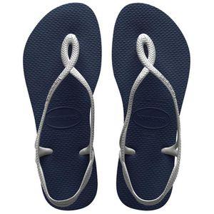 TONG Tongs femme HAVAIANAS modèle sandale LUNA bleu mar