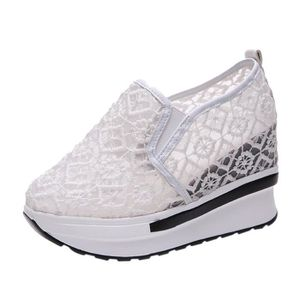 MOCASSIN Increased Net Shoe Femmes Casual Shoes Breathable
