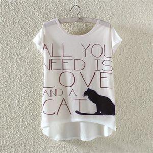 T-SHIRT Léger Tops T-Shirt Tee-Shirt de Loisir Tunique de