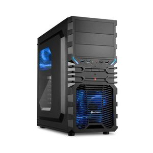 UNITÉ CENTRALE  PC Gamer, AMD A6, GT 1030, 480 Go SSD, 2 To HDD, 8