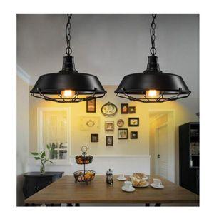 suspension luminaire industrielle achat vente pas cher. Black Bedroom Furniture Sets. Home Design Ideas