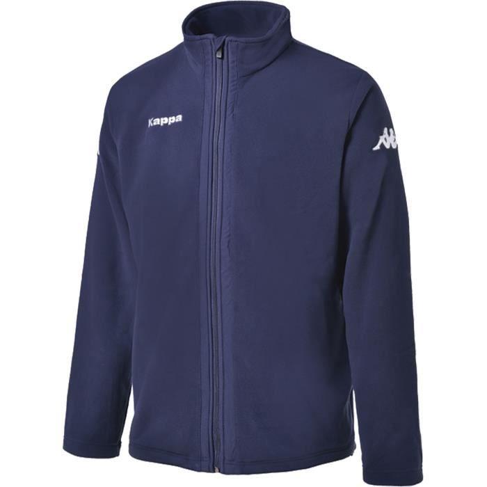 KAPPA Sweatshirt polaire Agrigente - Enfant Garçon - Bleu marine