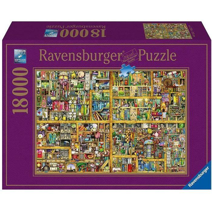 Ravensburger - 17825 - Puzzle - Bibliothèque Magique XXL- 18000 pièces - 14 ansPUZZLE