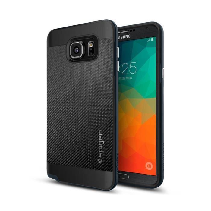 Spigen Neo Hybrid Coque pour Samsung Galaxy Note 5 Gris foncé