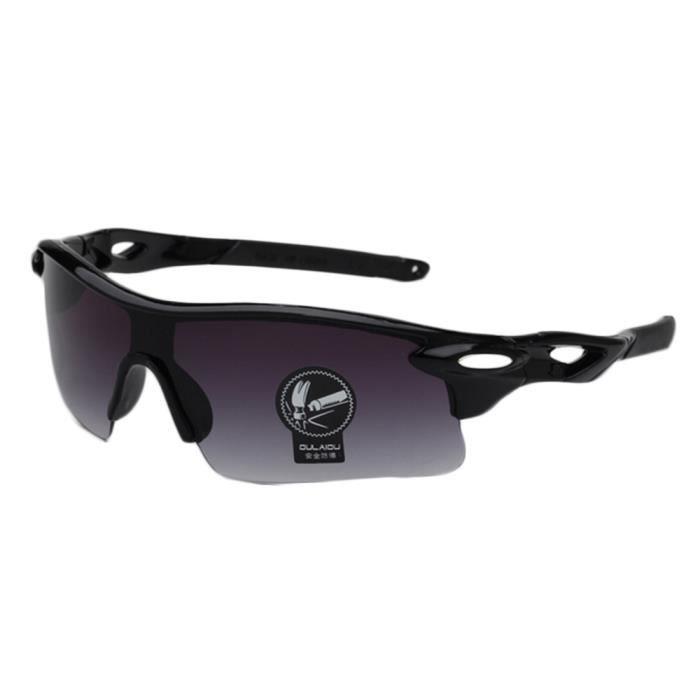Oulaiou goggle cyclisme ski verres à vélo lunettes (double gris ... 506ebdf6c7e0