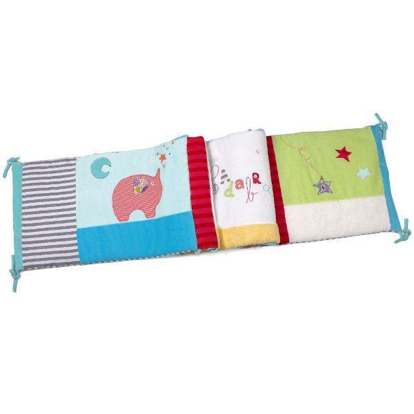 tour de lit coloré bébé Tour de lit 'Bliss'   Achat / Vente tour de lit bébé 4895029695254  tour de lit coloré bébé