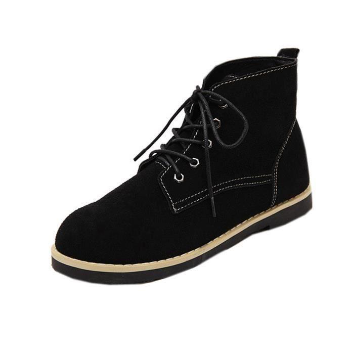 Bottine Boots Martin en Cuir Femme Fille C... ... Z7NepFGNj