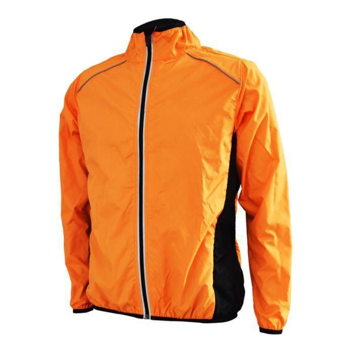Veste Pluie Vélo Bicyclette Manteau Coupe Sport Blouson Vent Homme qfEaZwW