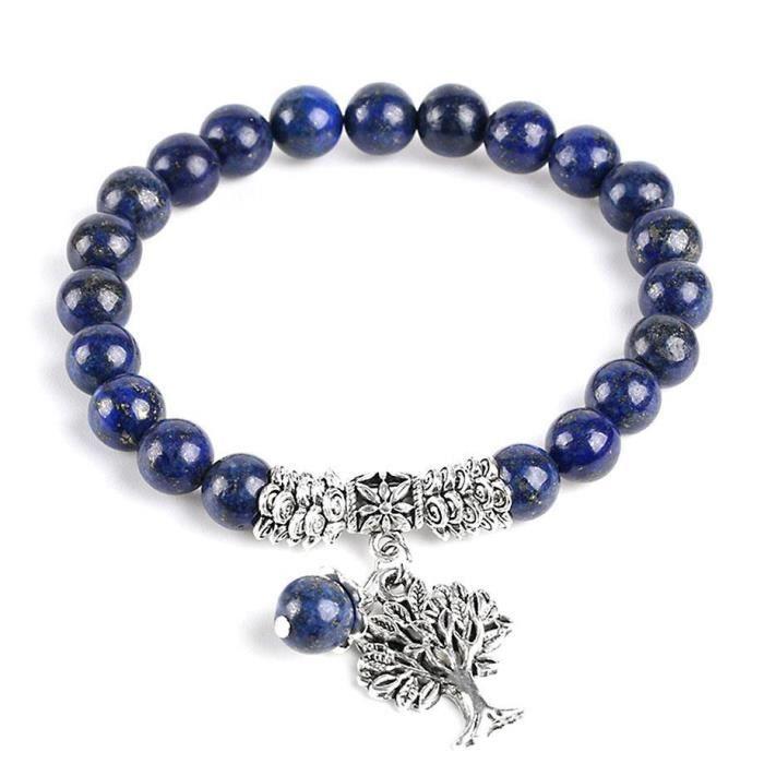 Bleu Argenté Bracelet Femme Achat Vif Arbre 19 Turquoise Perle Cm OPkZ8nwX0N