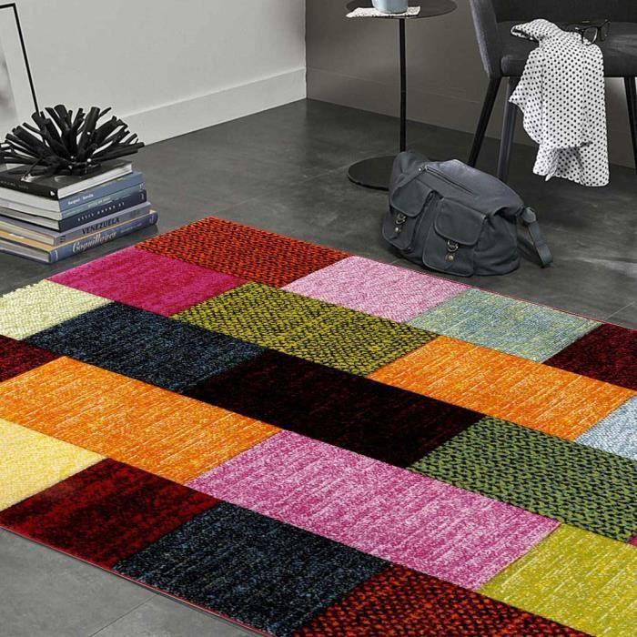tapis salon carre achat vente pas cher. Black Bedroom Furniture Sets. Home Design Ideas