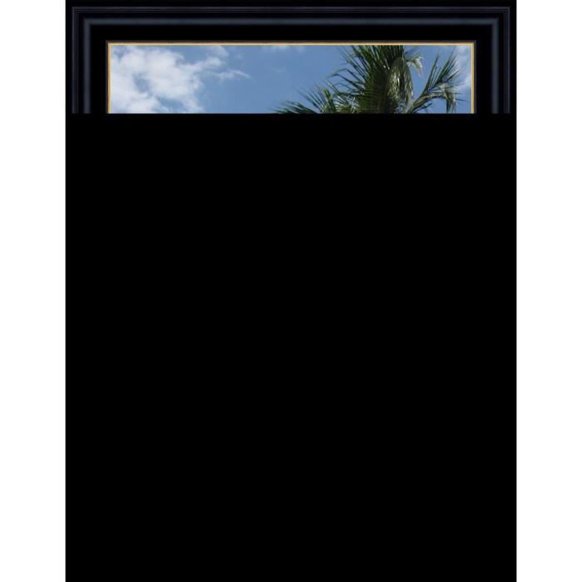 Cadre Photo Mural 40x40 40 X 40 Cadre Creux Noir Avec Filet Dore