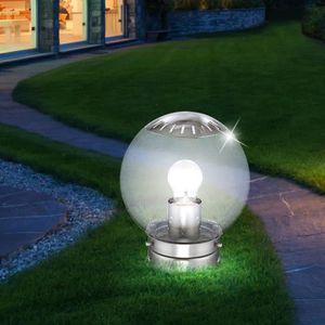 LAMPE DE JARDIN  Luminaire LED éclairage lampe DEL espace extérieur