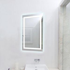 MIROIR SALLE DE BAIN WGLAI LED Miroir Mural Meuble Salle De Bain Interr