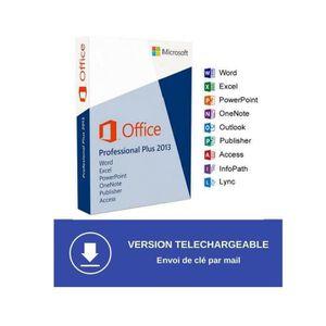 BUREAUTIQUE À TÉLÉCHARGER Microsoft Office professionnel plus 2013 - Version