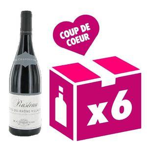 VIN ROUGE Rasteau 2014 vin rouge 6x75cl Chapoutier