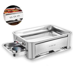 BARBECUE TD® barbecue portable charbon camping petit inox p