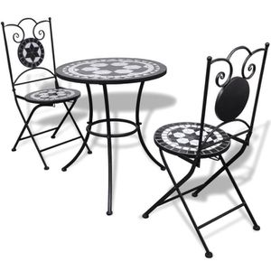 Salon de jardin avec mosaique - Achat / Vente pas cher -
