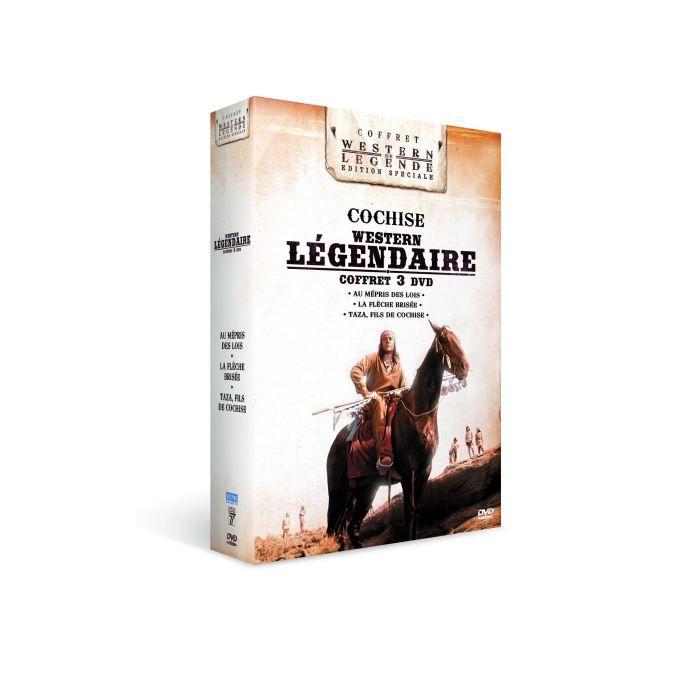 DVD FILM DVD Coffret Cochise : au mépris des lois ; la f...