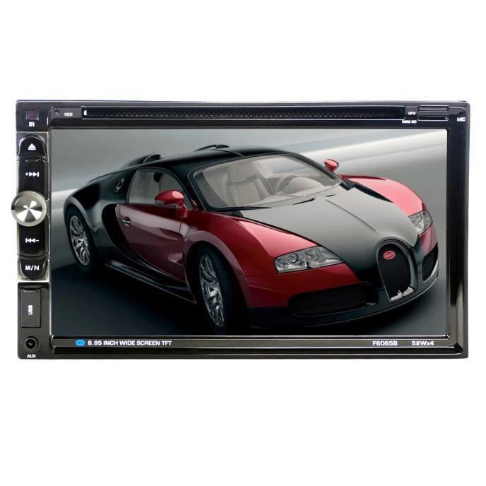 AUTORADIO ouniondo® 7 écran tactile Bluetooth stéréo voiture